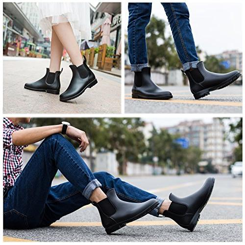 Asgard Boots Black Slip Ankle Booties