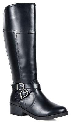 TOETOS Women JORDAN Side Zipper Knee High Riding Boots