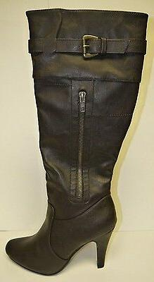 Women's Forever Link Stephanie 1 Knee High Brown Boots Multi