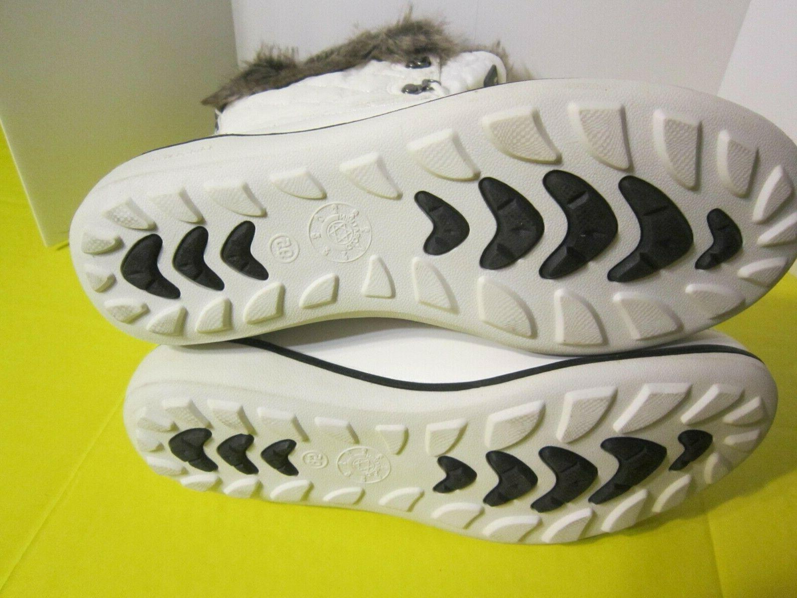 Global Win Winter Fur Up Snow White Size 9.5