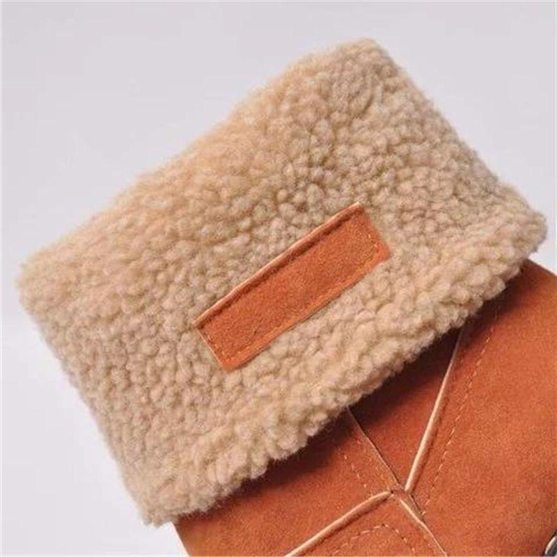 Women Winter Snow Warm wool 35-43 <font><b>Boots</b></font>