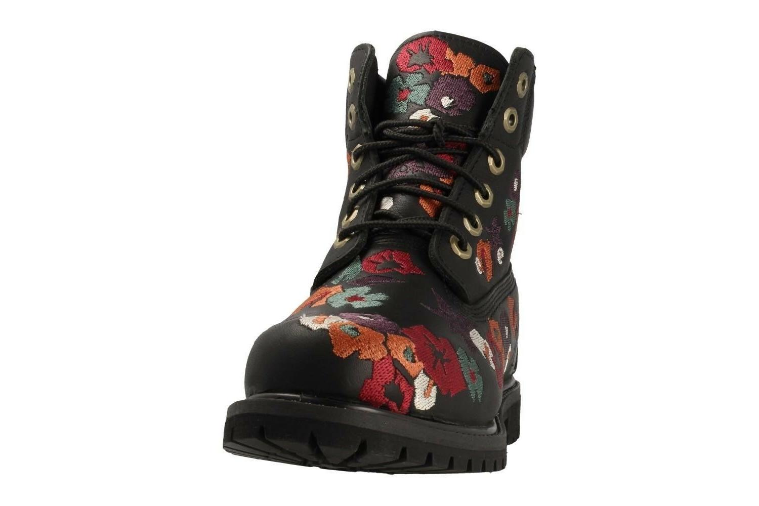 Timberland Womens Premium Boots Leather Black