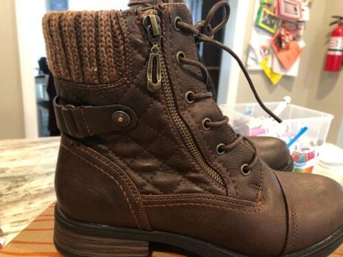 Global Win Lace-Up Boots -