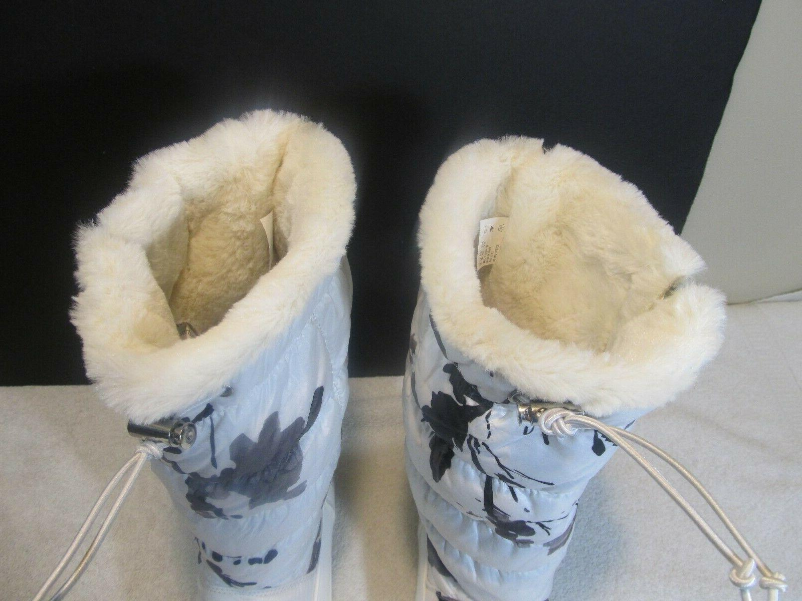 WOMENS Global TALL WHITE SNOW New 6.5 lambswool