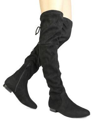 DREAM New Over Knee Slouchy Flats