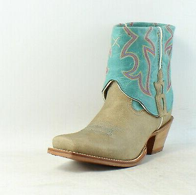 Twisted Out Cuff Western Boots
