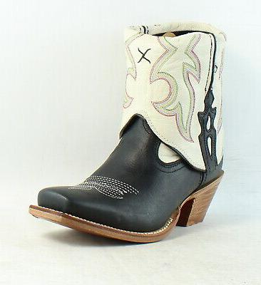 Twisted Womens Out Cuff Cowboy, Western Boots