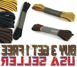 LOT Of2 x 3 x 5 x 10 Timberland Replacement Work BOOT LACES