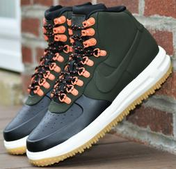 Nike Lunar Force 1 Duckboot 18 - New Men's Boots Sequoia Gre