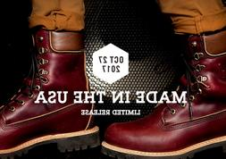 """TIMBERLAND MADE IN THE USA 8"""" inch Premium Waterproof Boots"""