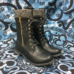 db8fba4c42d Forever Link Mango-31 Womens Shoes Black 10 Boots