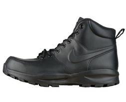 NIKE Men's Manoa Leather, Noir, 10 M US