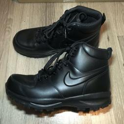 Nike Manoa LTHR Boot Black Sportswear NSW 454350-003 Mens Si