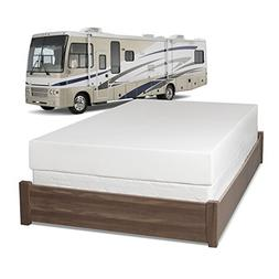 Serenia Sleep 8-Inch Memory Foam RV Mattress, Short Queen