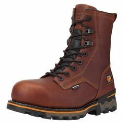 """TIMBERLAND PRO Men's 1112A214 8"""" Boondock Brown Composite To"""