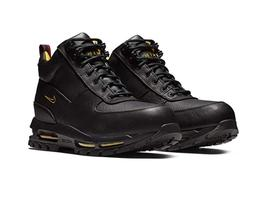 Nike Men's ACG Air Max Goadome Boots Black//Yellow Royal Red