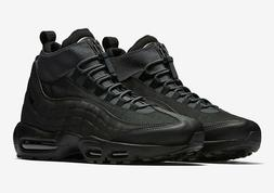 Nike Men's Air Max 95 Boots NEW AUTHENTIC Black 806809-001