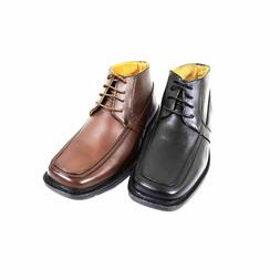 Men's Ankle Oxford Lace Up Boots Leather Insole/Lining Dress