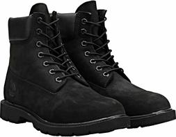 Timberland Men's Basic Boot 6 Inch water proof Black Suede a