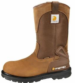 Carhartt Men's Bison 11'' Waterproof Steel Toe Work Boots CM