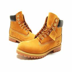 Timberland Men's Boot 6 Inch Classic Premium 10061 Wheat Nub