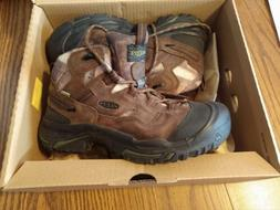 Men's Keen Boots Brand New Size 10 EE Braddock Mid WP soft t