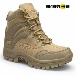 Men's Boots Military boot Combat Mens Chukka Ankle Bot Tacti