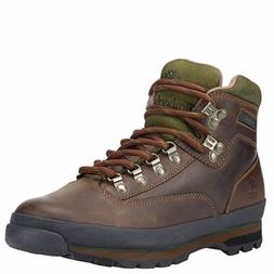 Men's Classic Leather Timberland Euro Hiker Boots - Brown -