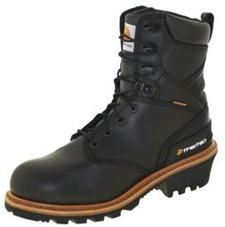 Men's Carhartt CML8131 Waterproof Soft Toe Logger Work Boots
