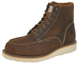 Carhartt Men's CMW 6095 Moc Toe Waterproof Wedge Work Boots