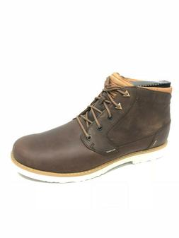 TEVA Men's Durban Bison Brown Leather Boots Shoes 1008302 An