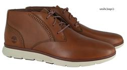 "Timberland Men's ""Franklin Park Chukka"" Brown Leather Boots"
