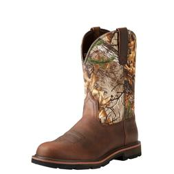 Ariat Men's Groundbreaker Brown/Real Tree Xtra Round Soft To