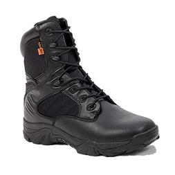 FORTUN Men's high-top Shoes Tooling Boots Autumn and Winter