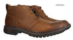 "Timberland Men's ""Logan Bay Chukka"" Brown Leather Boots Size"