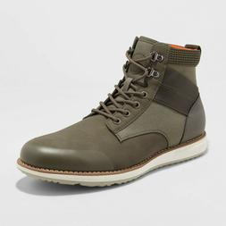 Men's Phil Casual Fashion Boots - Goodfellow & Co - Olive Gr