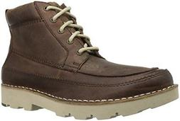 206 Collective Men's Pioneer Moc-Toe Lace-up Boot Grained le