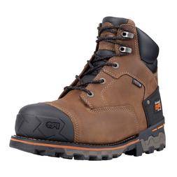 "Timberland Men's PRO 92673 Boondock 6"" Soft Toe Work Boots"