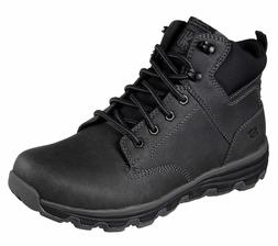 Men's SKECHERS Relaxed Fit: Format - Glaven Boot, 65156 /BLK