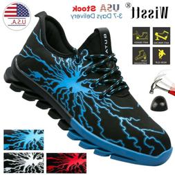 Men's Safety Work Shoes Indestructible Steel Toe Boots Light