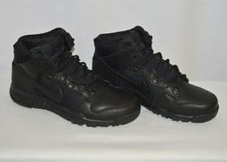 Nike Men's SB Dunk High Boots, Men's 11, 536182 001, Black,