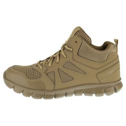 Reebok Men's Tactical Military Army Boots Coyote Mid High Bo