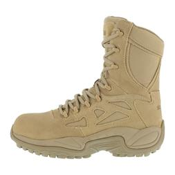 Reebok Men's Tactical Military Desert Tan Stealth Boots 8 In