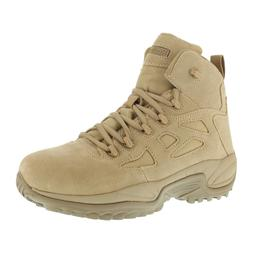 Reebok Men's Tactical Military Desert Tan Stealth Boots 6 In