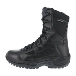 Reebok Men's Tactical Military Stealth Boots Black 8 Inch Si