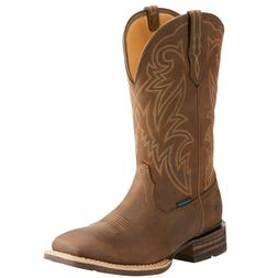 Ariat® Men's Tombstone H2O Oily Brown Waterproof Boots 1002
