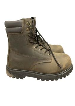 Men's Tough Steel Toe Lace-Up Safety Working Boots