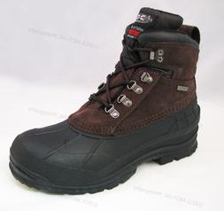 "Brand New Men's Winter Boots Leather 6"" Insulated Waterproof"