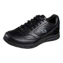 Skechers Men's   Work Relaxed Fit Nampa Slip Resistant Sneak