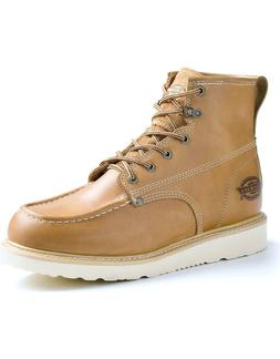 Dickies Men Trader Soft Toe Work Boot DW7318 TAN